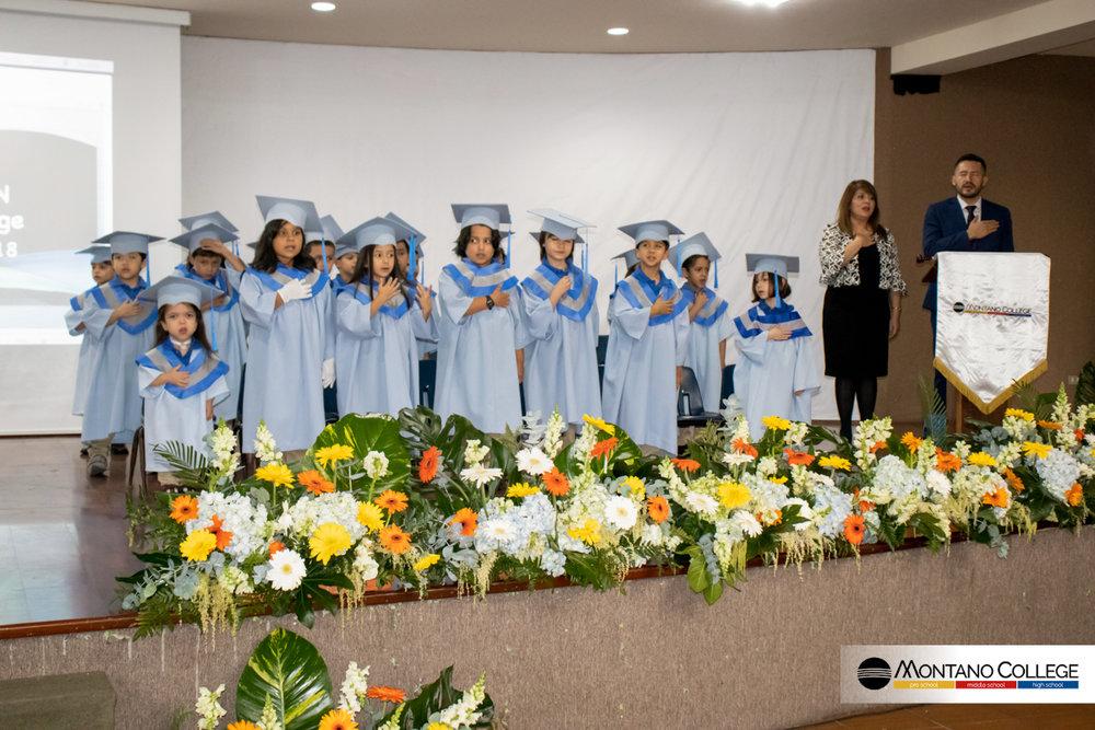 Graduación Pre Primaria 2018 - Octubre