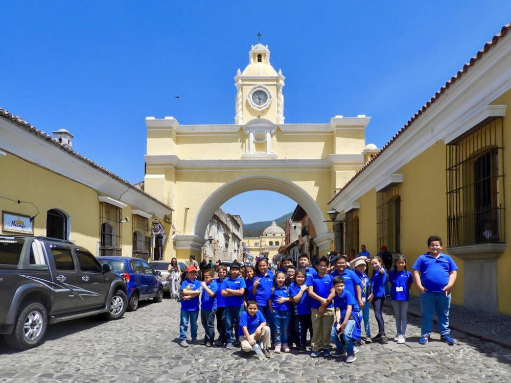 La Antigua Guatemala 3ro Primaria - Marzo