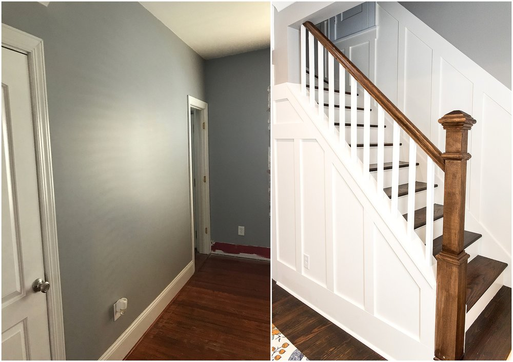 Before & After Photos College Avenue Hidden Stairwell Renovation Project