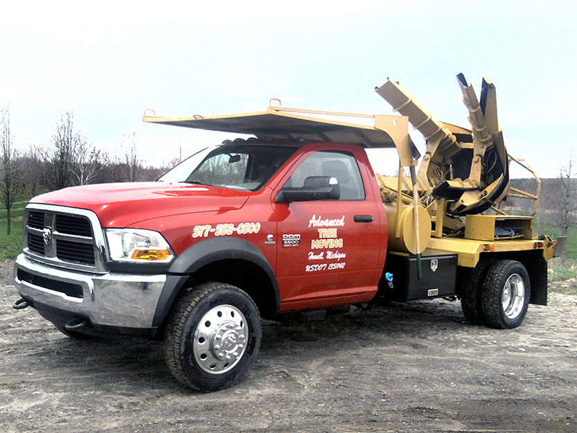45″ Spade Truck
