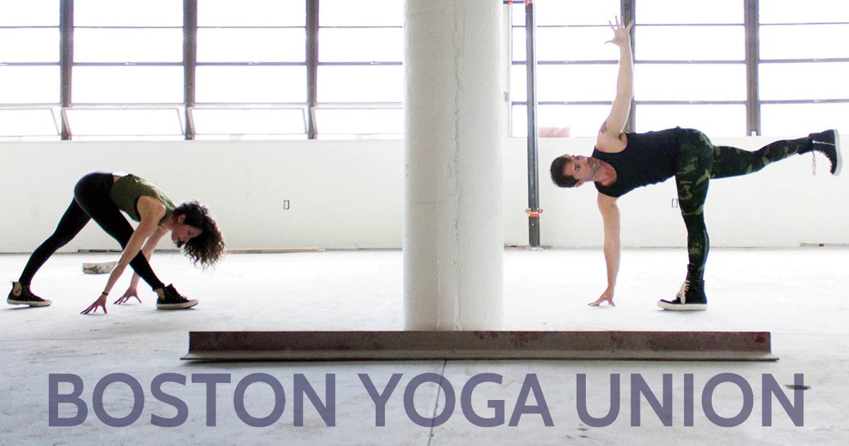 Boston Yoga Union In Studio Live Streaming Video On Demand