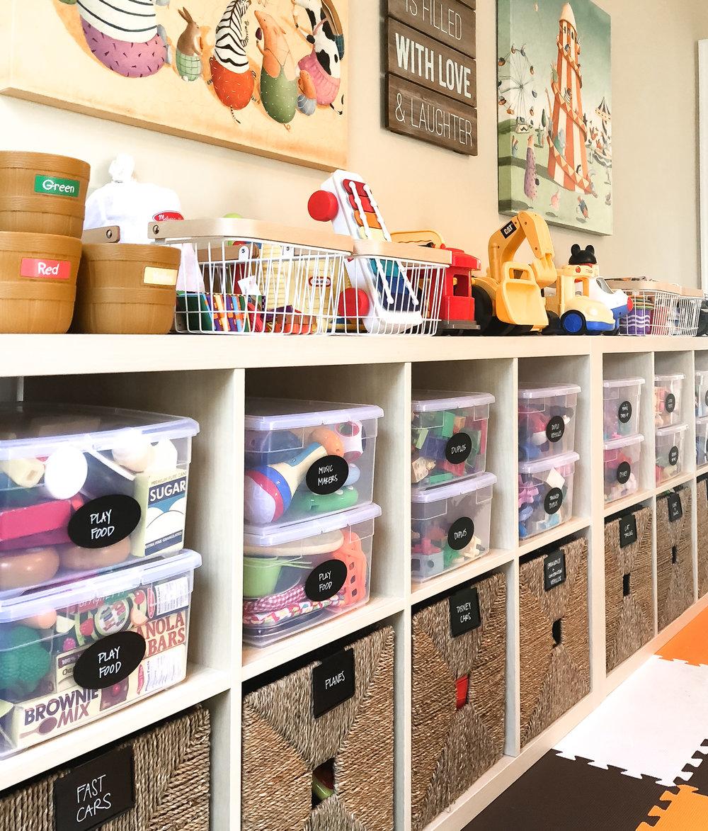 House of Turk | Kids Playroom Organization