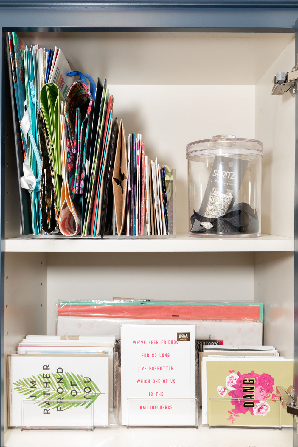 House of Turk | Stationery and Gift Wrap Storage and Organization