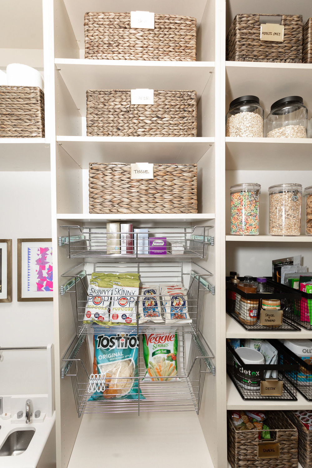 House of Turk | Walk In Pantry Organization and Design