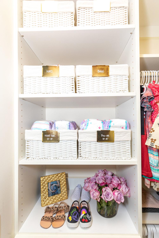 House of Turk | Closet Organization, basket storage