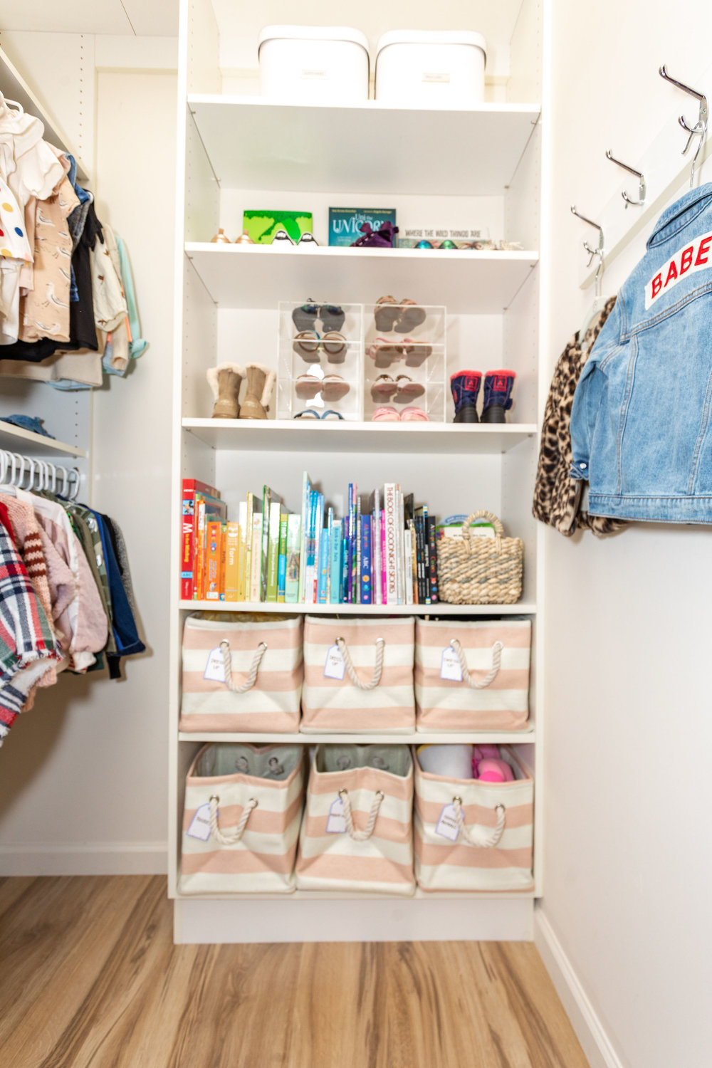 House of Turk | Kids Closet Organization, Shoes and Books
