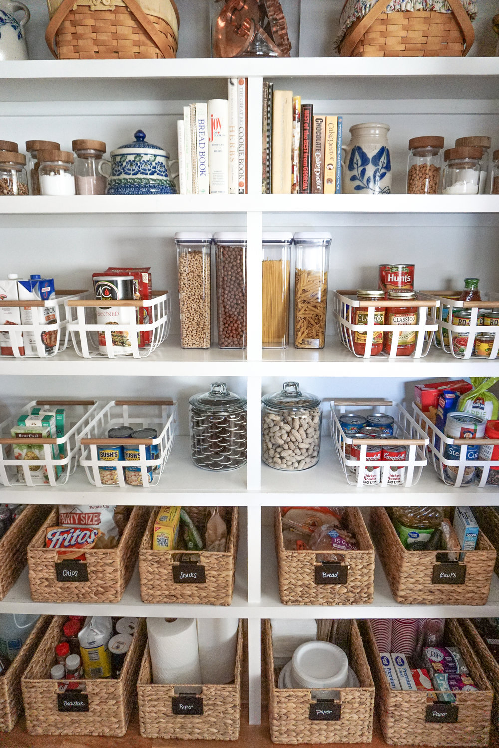 House of Turk | Reach In Pantry Organization and Design