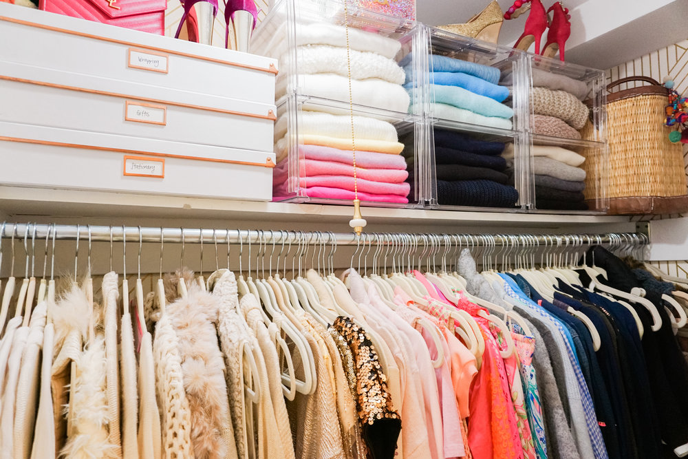 House of Turk | Closet Organization, Sweater Organization