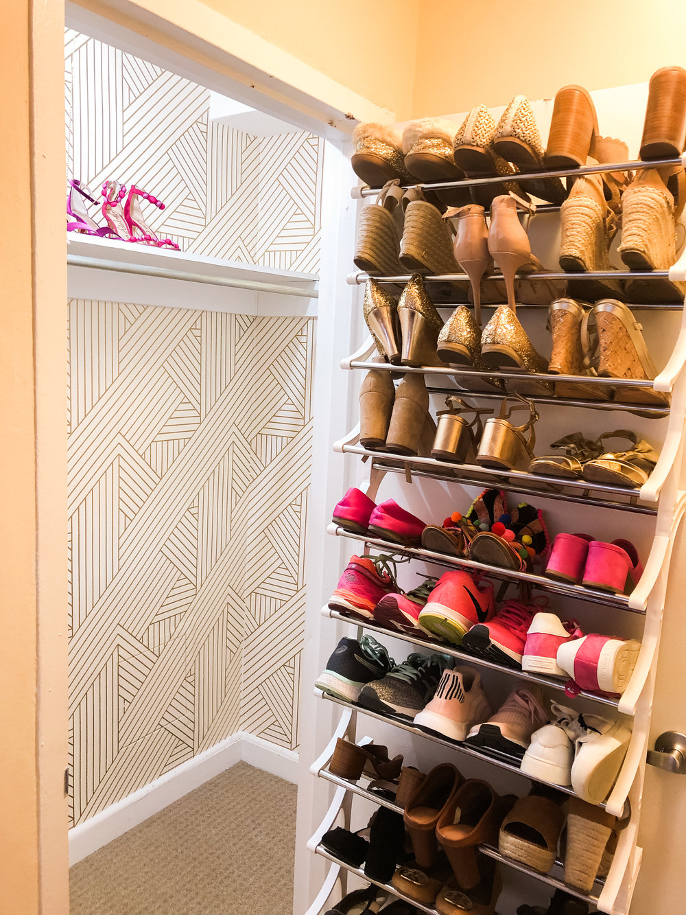 House of Turk | Closet Organization, Walls (After)