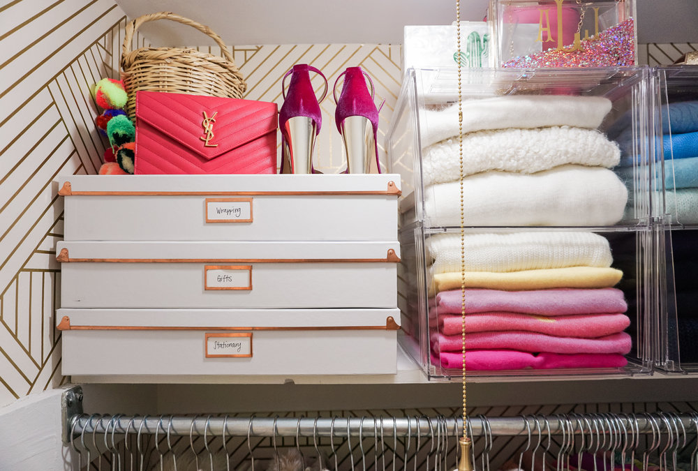 House of Turk | Closet Organization, Document Boxes