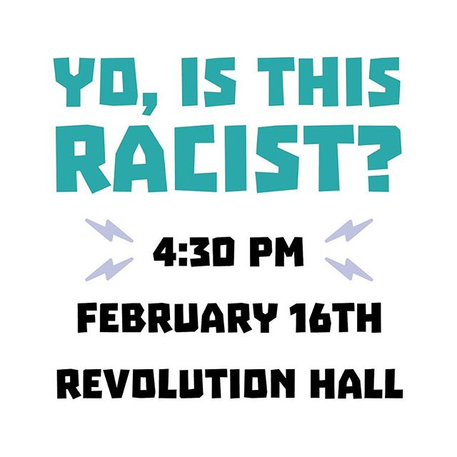 We're back to Revolution Hall for Yo Is This Racist! Show starts at 4:30 PM with hosts @ANDREWTI and @TrondyNewman plus special guest @Mohanad.Elshieky. Tickets are still available online or at the door!⁣ #ListenUpPDX ⁣ #podcast #podcasts #podcasting #podcaster #podcastlife #podcastaddict #podcastlove #podcastjunkie #itunespodcast #spotifypodcast #applepodcast #portland #pdxnow #pdxevents #pdx #portlandoregon #portlandor #dossiernaturally #hellosentinel #hoteldeluxe #houseofwelcome #provenancehotels