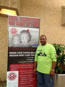 Topeka Rescue Mission Debit Card with TRM Employee