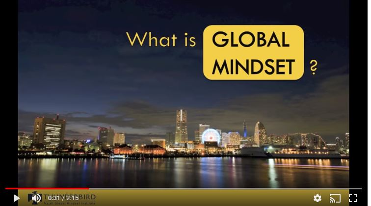T-Bird What's a Global Mindset video.JPG