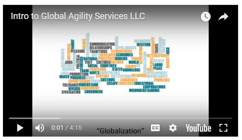 CLICK HERE: INTRODUCTION: What do we mean by Globalization? by Global Agility? (4 minutes)