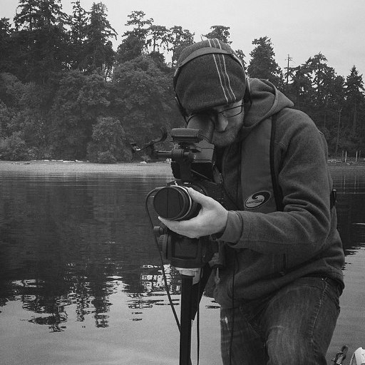 """Andy Robertson, Scientific Liaison   Andy Robertson is a filmmaker and communications strategist living on Canada's west coast. With fifteen years of experience as a digital media producer and filmmaker, Andy is passionate about communicating important social issues and scientific discovery to new audiences, while exploring new tools of communication.  Andy's credits include """"Reaching Blue"""" (producer/director) """"Funding the Future, New York Times"""" (cinematographer), """"Ghana: Project Tourism"""", (producer/director, """"The Thaw: Behind the Scenes"""" (producer)."""