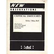 "Critical Thoughts - Edited by: Tiffany BellThis issue focuses on contemporary criticism of abstract art and features: ""An Introduction: Comments on Meaning in Abstract Art"" by Tiffany Bell; ""On Being More Than One Thing at a Time"" by Allen Furbeck; ""The Object of Criticism"" by Barbara Savedoff; ""Selections From the Journal of Myron Stout"" by Myron Stout; ""Artist Proof"" by Christian Haub; and ""Critical Question"" by Steven Henry Madoff…Order here"