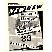 "Straight Lines - Editor: Kim LarsenThis issue consists of four works of ""random"" fiction from young New York writers: ""Seeing Mrs. Thwale"" by Barbara D. Feinberg; ""Terrain"" by Mark Bobrow; ""Jump"" by Kim Larsen; ""Two or Three Things We Know About Her"" by Peter Trachtenberg; illustrated with works by May Castleberry and Sue Williams…Order here"