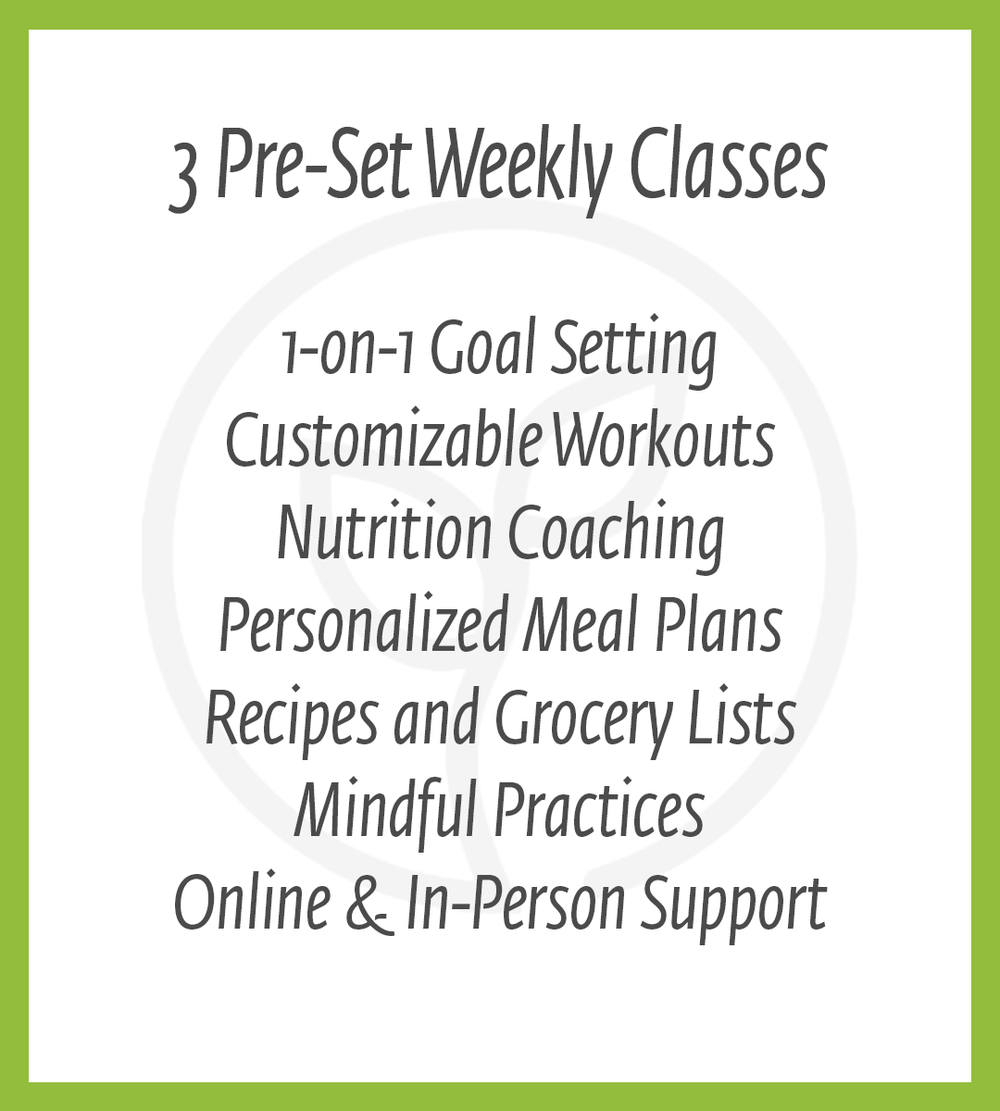 8 week challenge info