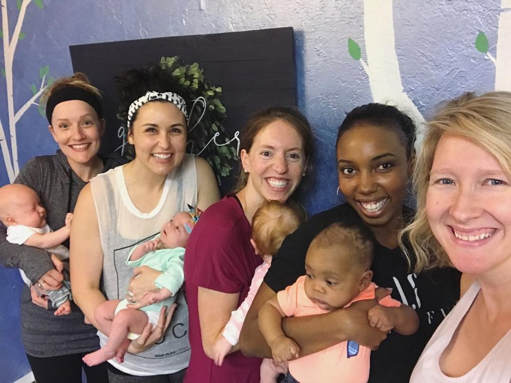 BIRTHFIT is a movement - It's about expecting and postpartum moms taking charge of their bodies and their decisions, and supporting one another's journeys—together and apart