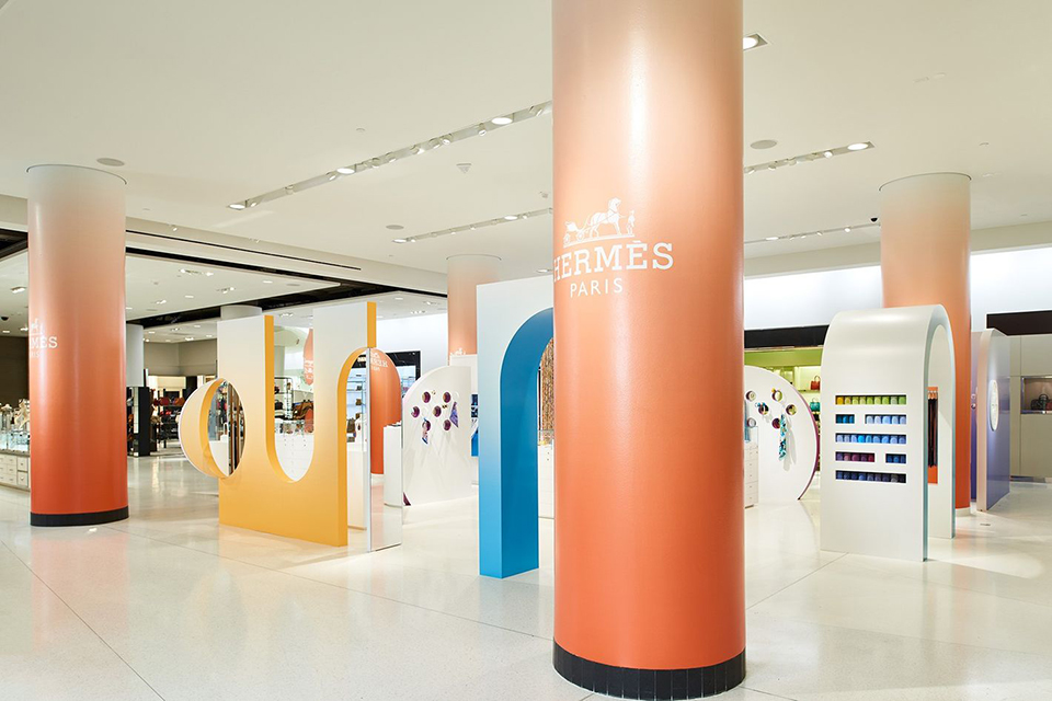 Hermes Concept Shop - Nordstrom's Seattle Flagship Store