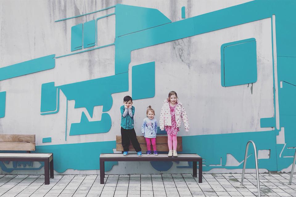 Caboose Wall Art - Seattle, Washington