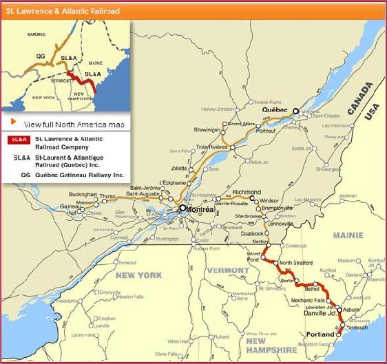 The St. Lawrence & Atlantic Railroad