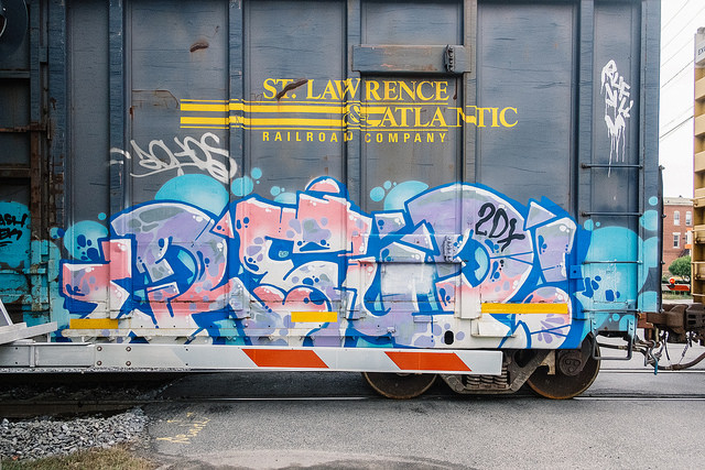 Reup on a SLR boxcar