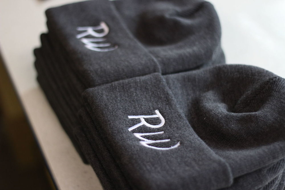 Variety - embroidery opens the door to many potential products such as hats, beanies, jackets, polos and many more. call and see what kind of edge we can give your company this season.