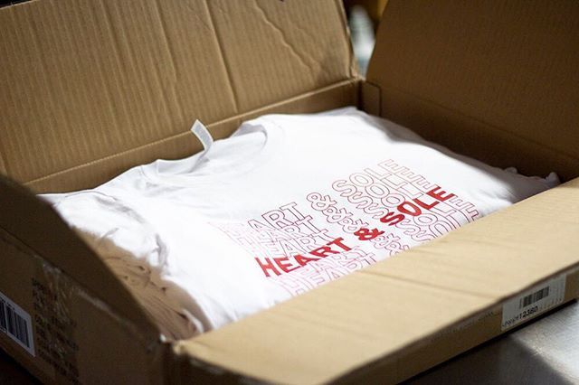 Printed, boxed & shipped! We've been staying very busy thanks to all of you! Keep the shirts comin' 🙌🏻 - #TeesMadeEasy