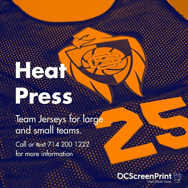 Heatpress transfers are great for sports team numbering and names + high color logos! Let us know how we can help make your vision a reality 🙌🏻⚡️⠀⠀⠀⠀⠀⠀⠀⠀⠀ -⠀⠀⠀⠀⠀⠀⠀⠀⠀ #TeesMadeEasy