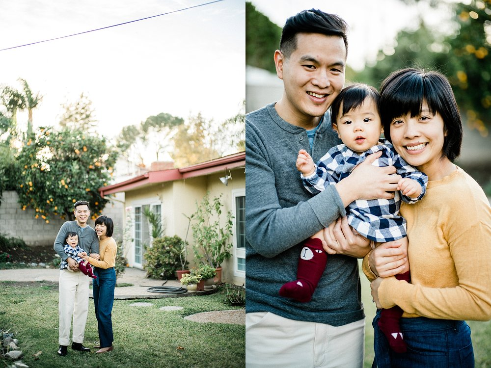 Cozy Home Backyard Los Angeles Family Session Stewart and Connie Photography_0009.jpg
