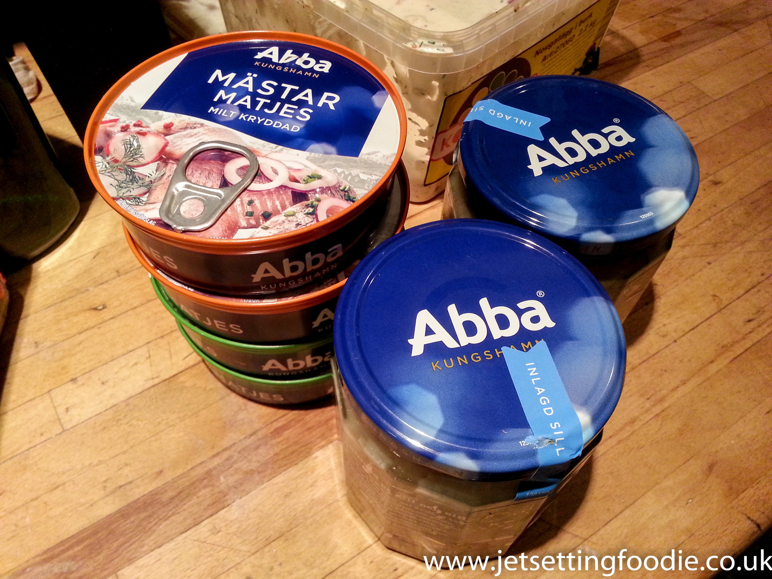 Abba gave up their music career to produce herring.