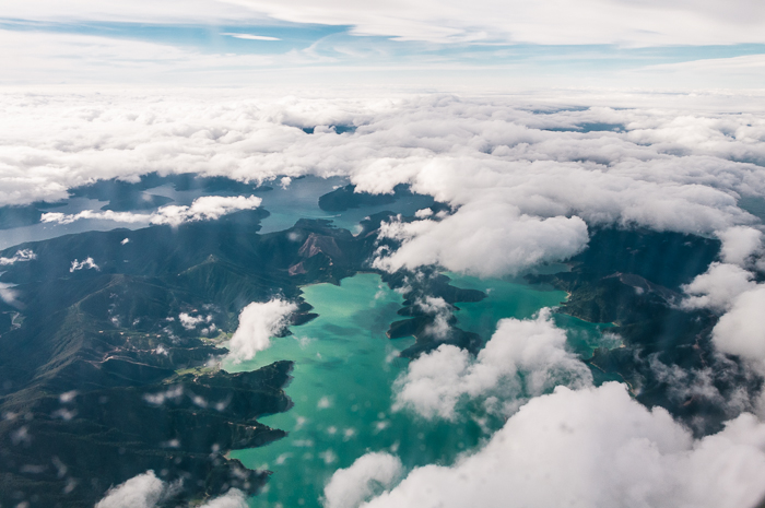 First glimpse of Middle Earth from the air