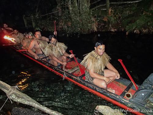 Maori waka (canoe)