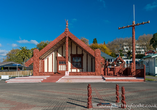 Marae @ Ohinemutu: Communal or sacred place that serves religious and social purposes