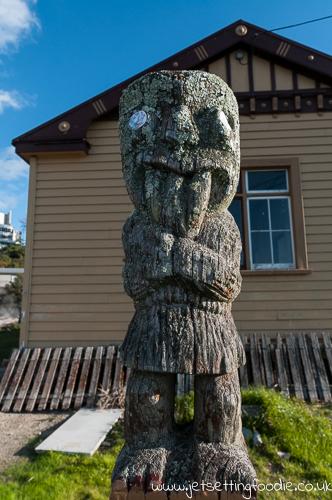 Maori guardian @ Ohinemutu