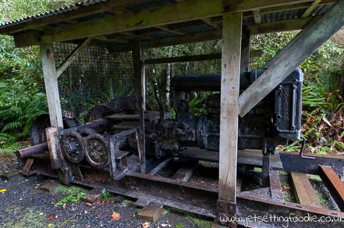 Fordson Tractor Log Hauler... just chilling