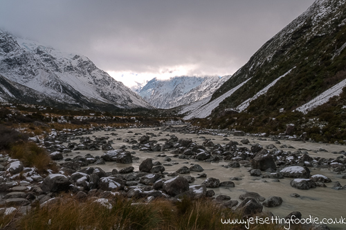 On the Hooker Valley Track