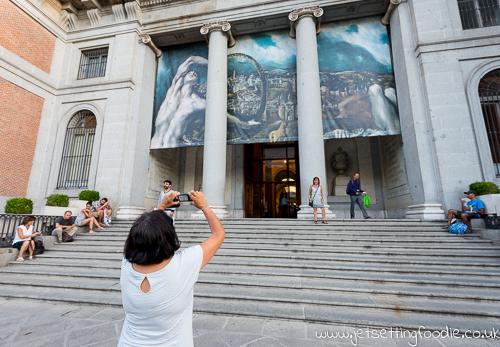 Art imitating life @ El Museo del Prado