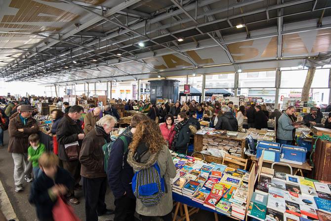 Sant Antoni Vintage Book Market every Sunday.