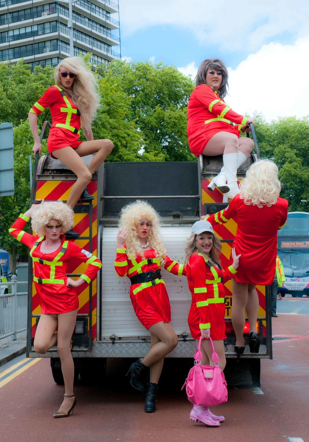 Drag Queens Fire Engine.JPG