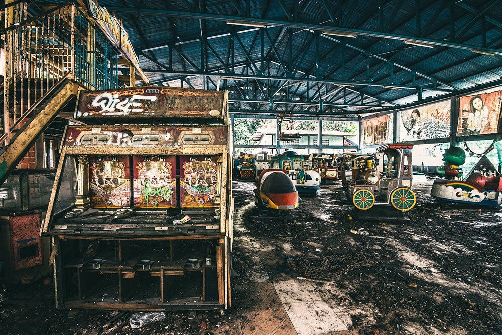 Game Over: Arcade of broken dreams.