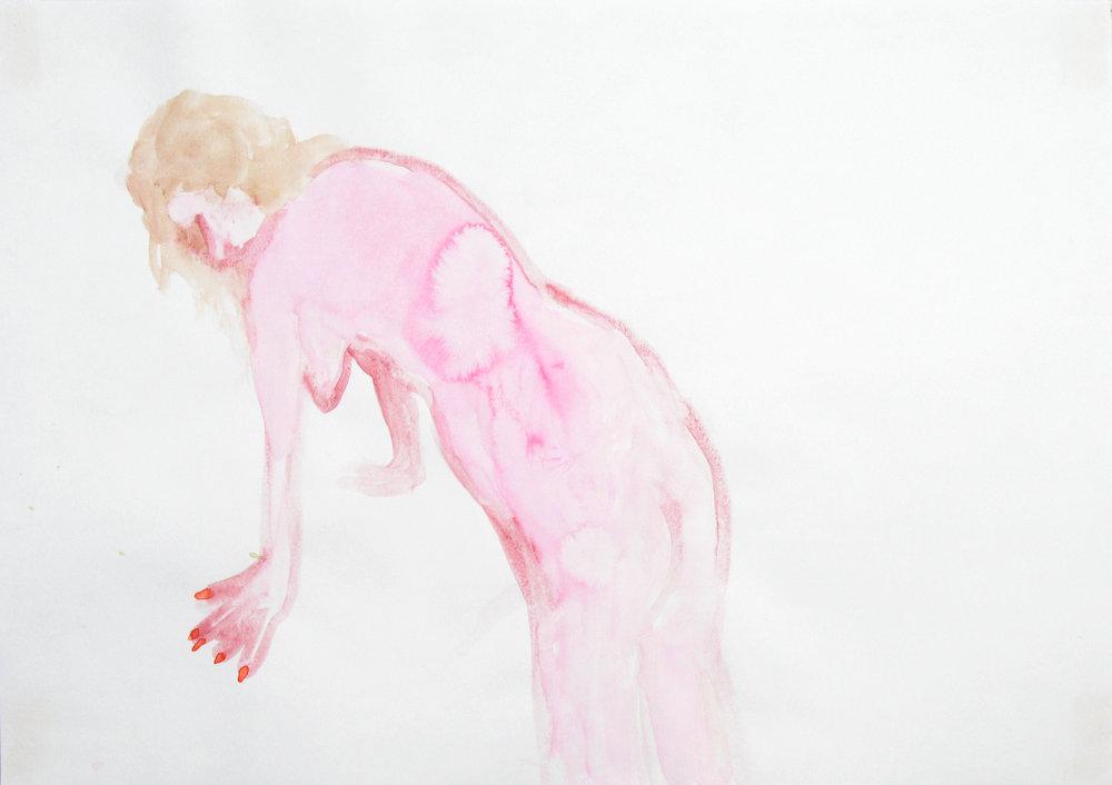 Uit de serie  Gas, water en licht (Gas, water and light)  aquarel 29 x 42 cm, 2007