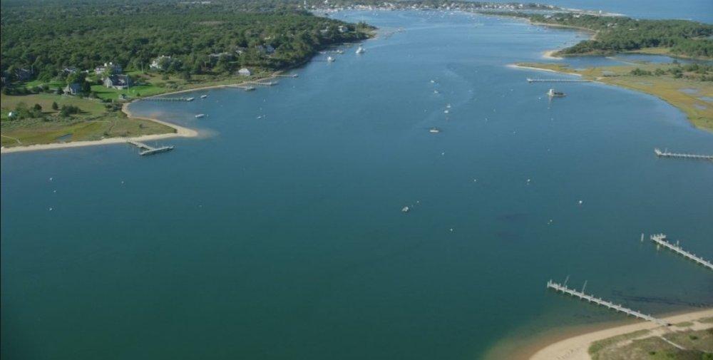 Enjoy tubing, waterskiing, or wakeboarding on the flat water of Katama Bay.
