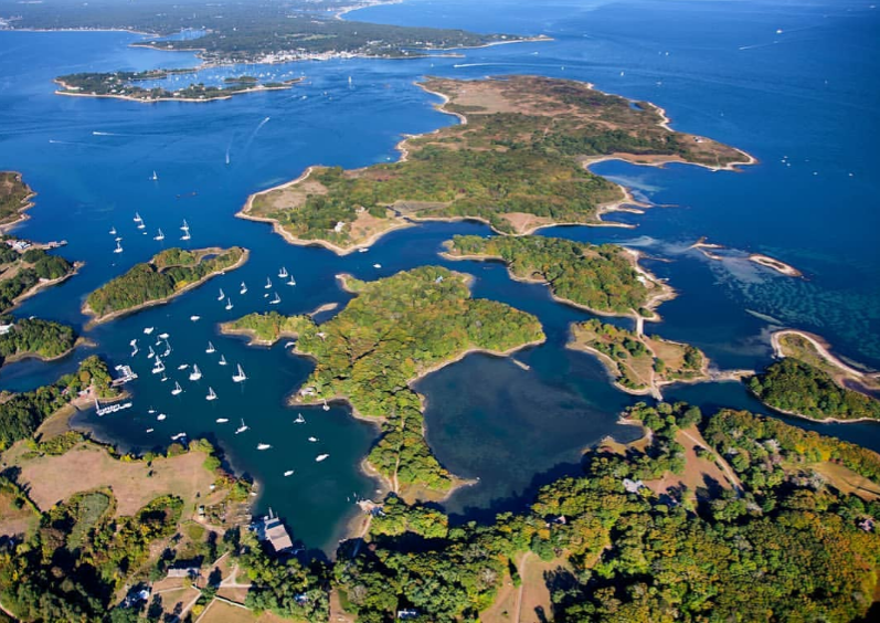 For the more adventurous, take a trip to Cuttyhunk and the Elizabeth Islands.