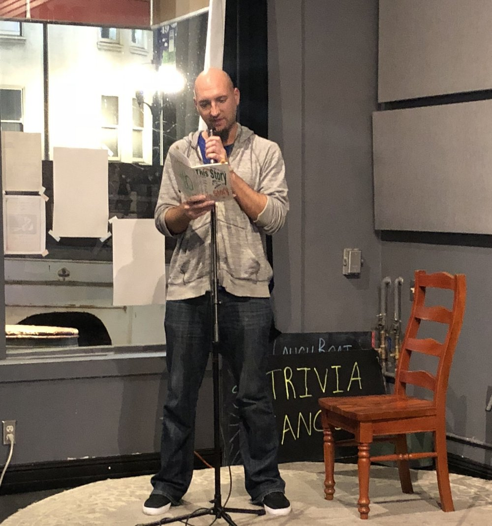 About - Lit Night is a partnership between CCSF's Creative Writing Program, the Ingleside-Excelsior Light, SFSU MFA Program, and our favorite local pub owner, Miles Escobedo