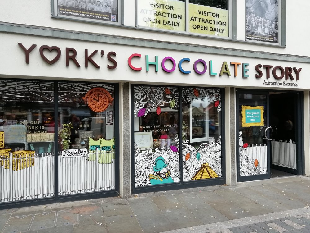 York's Chocolate Story Chocolate in the YCS store. Lauren Cocking..jpg