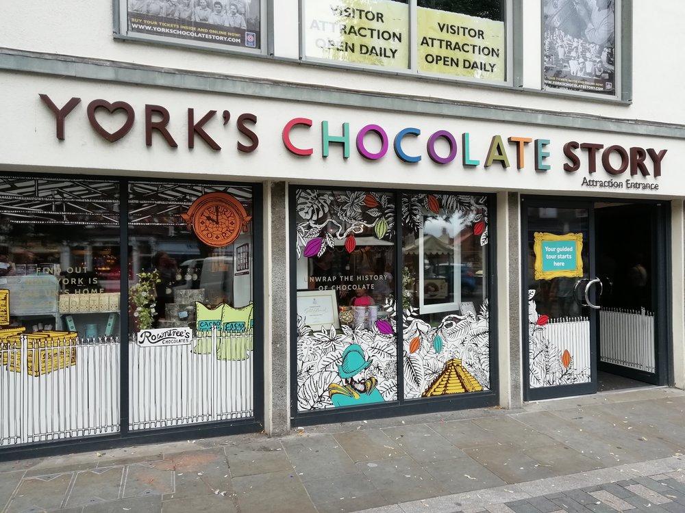 York's Chocolate Story Chocolate in the YCS store. Lauren Cocking..jpg
