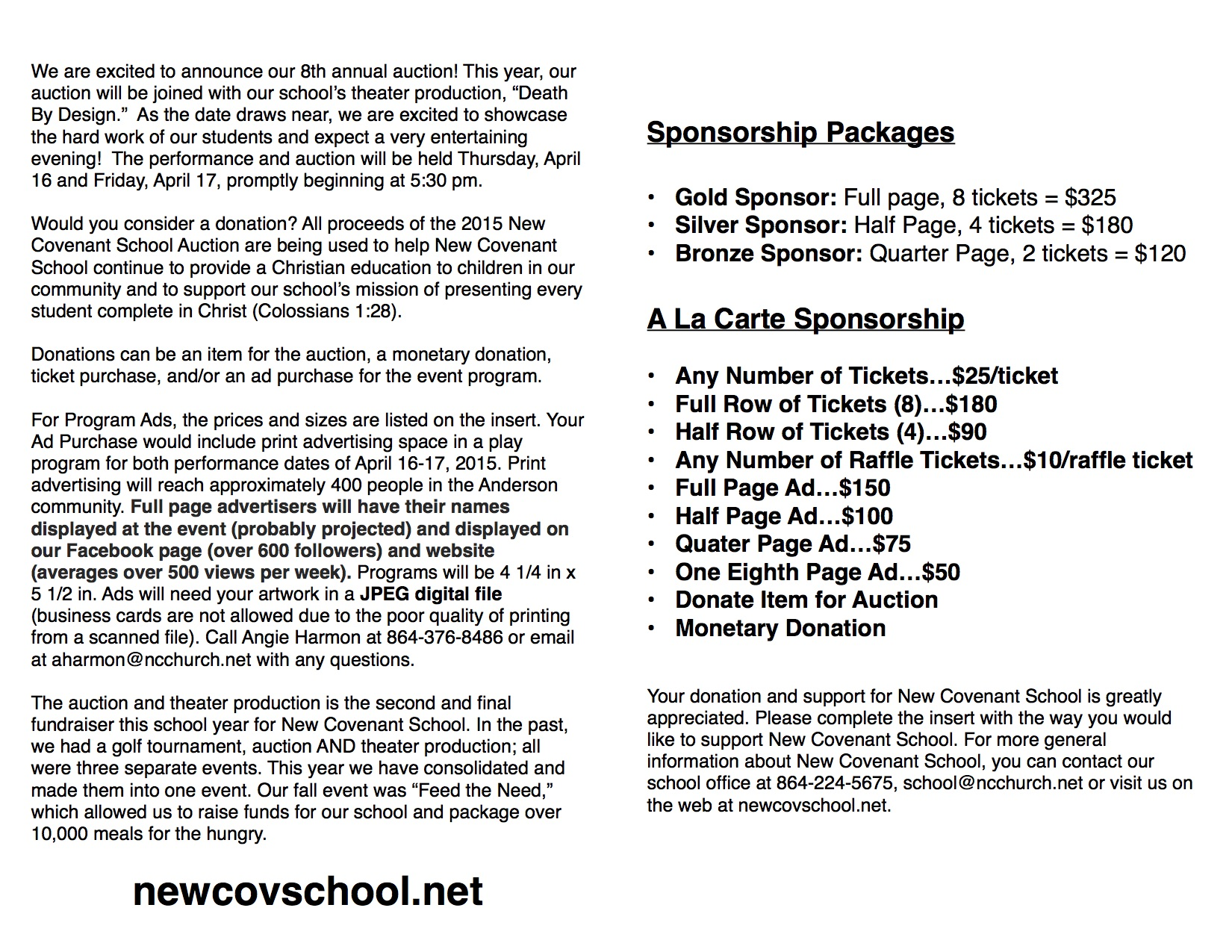 Brochure for Sponsorship2