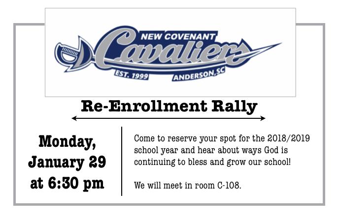 Re-Enrollment Rally